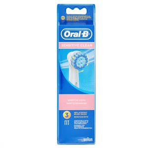 Oral-B Sensitive Clean, recambio de 3 cabezales