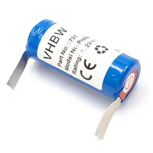 vhbw Batería 2500mAh cepillo de dientes Braun Oral- B