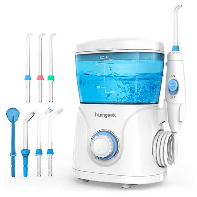 Irrigador dental sobremesa